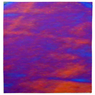 Napkin - Pink and Blue Stormy Sky