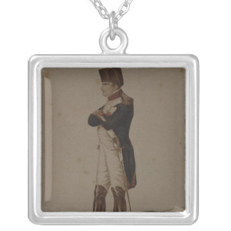 Napoleon Bonaparte as First Consul Silver Plated Necklace