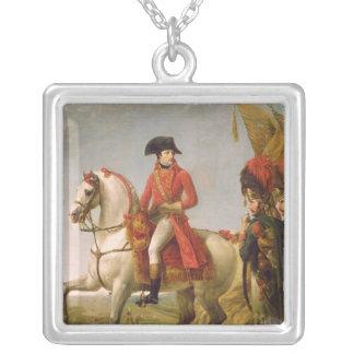 Napoleon Bonaparte  First Consul Silver Plated Necklace