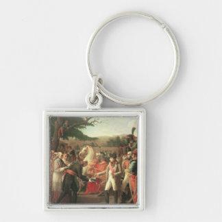 Napoleon Bonaparte  Receiving the Keys Key Ring