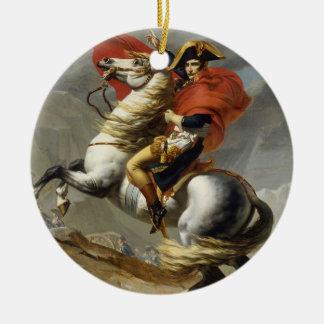 Napoleon Crossing the Grand Saint-Bernard Pass Christmas Ornament