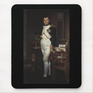 Napoleon in his Study by Jacques Louis David Mouse Pad