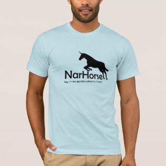 NarHorse (black) T-Shirt
