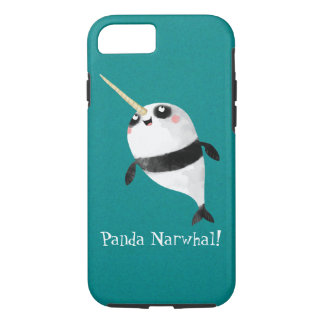 Narwhal and Panda in One iPhone 8/7 Case