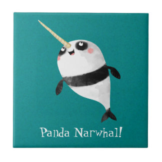 Narwhal and Panda in One Tile
