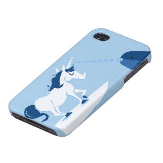 Narwhal and Unicorn iPhone 4/4S Case