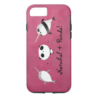 Narwhal plus Panda! iPhone 8/7 Case