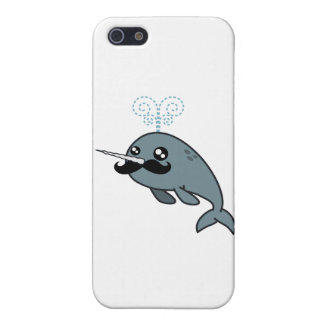 Narwhalstache iPhone 5 Cases