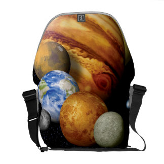 NASA JPL Solar System Planets Montage Space Photos Commuter Bags