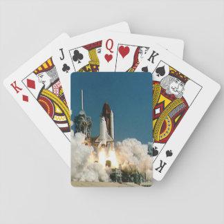 NASA Space Shuttle launch, Rocket cards