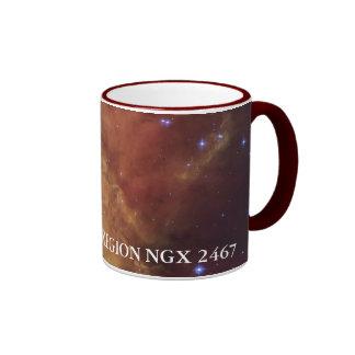 NASA STAR-FORMING REGION NGC 2467 COFFEE MUG