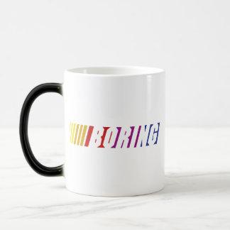 Nascar Boring Magic Mug