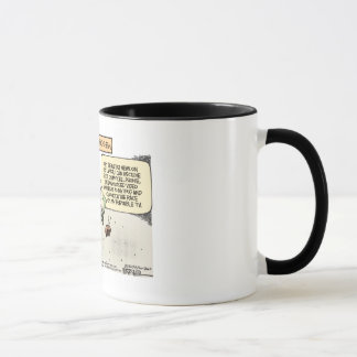 NASCAR cartoon coffee mug