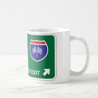 NASCAR Next Exit Coffee Mug