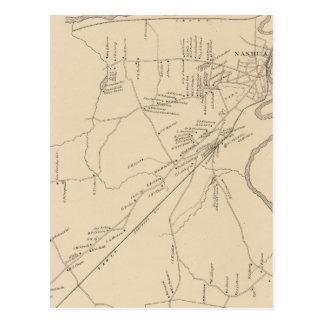 Nashua, Hillsborough Co Postcard