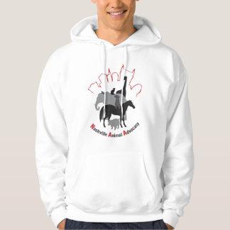 Nashville Animal Advocacy logo Hoodie