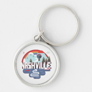 Nashville In Design Key Ring