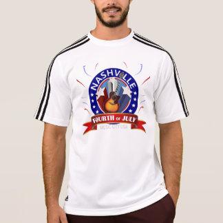 Nashville July 4th Men's Adidas ClimaLite® T-Shirt