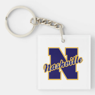 Nashville Letter Key Ring