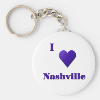 Nashville -- Midnight Blue Key Ring