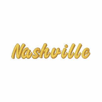 Nashville Music Notes Embroidered Hooded Sweatshirts