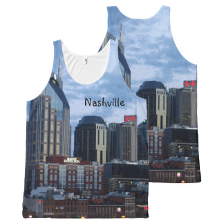 Nashville Skyline All-Over Print Tank Top
