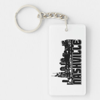 Nashville Skyline Key Ring
