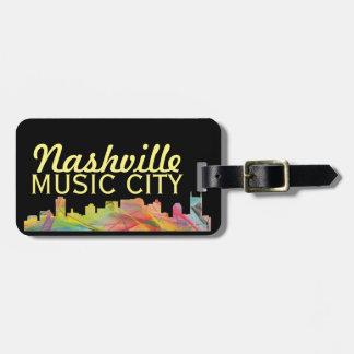 Nashville, Tennessee - Bag Tag