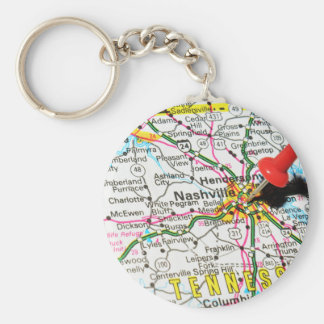 Nashville, Tennessee Key Ring