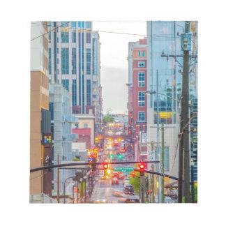 Nashville Tennessee night skyline Notepad