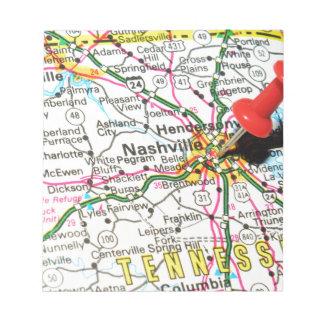 Nashville, Tennessee Notepad