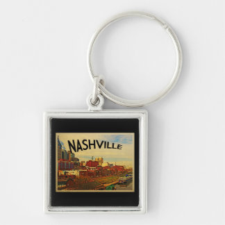 Nashville Tennessee Skyline Key Ring