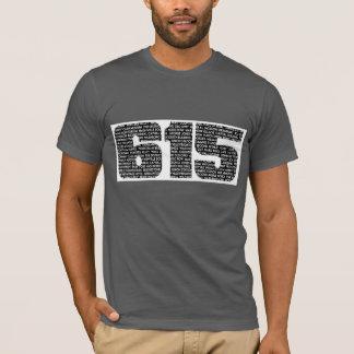 Nashville Tennessee T-Shirt 615