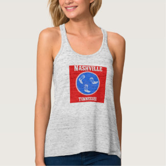 Nashville Tennessee Tank with Boots