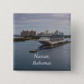 Nassau, Bahamas 15 Cm Square Badge
