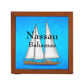 Nassau Bahamas Desk Organiser