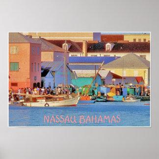 NASSAU DOCKS POSTER