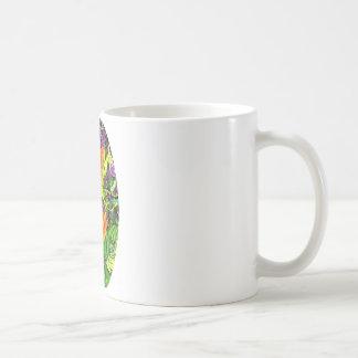Nasturtiums Garden Oval Gifts by Sharles Coffee Mugs