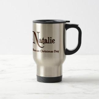 Natalie Stainless Steel Travel Mug