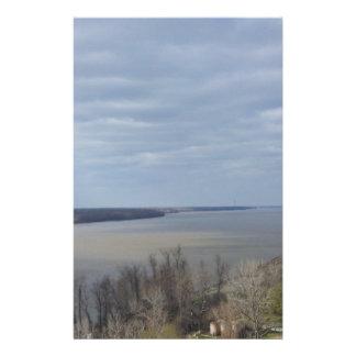 Natchez MS Mississippi River Stationery