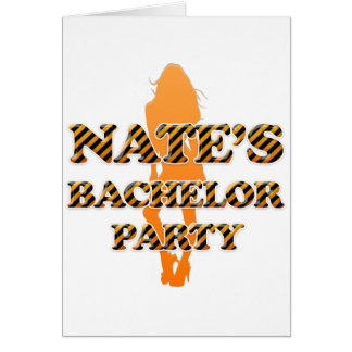 Nate's Bachelor Party Card