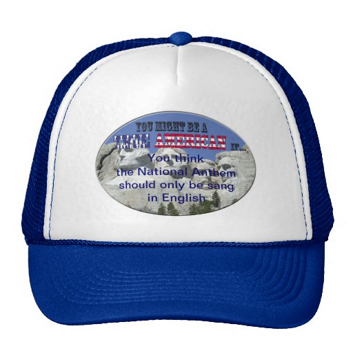 National Anthem Mesh Hat