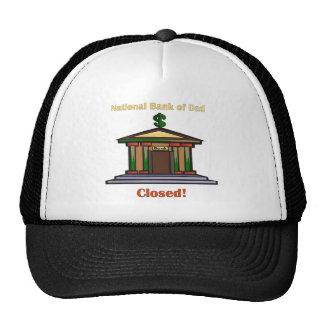 National Bank Of Dad Mesh Hat
