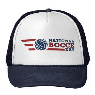 National Bocce Day Hat