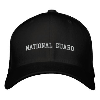 NATIONAL GUARD EMBROIDERED BASEBALL CAPS