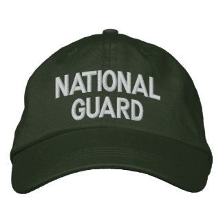 NATIONAL GUARD EMBROIDERED CAP