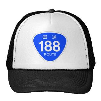 National highway 188 line - national highway sign hats