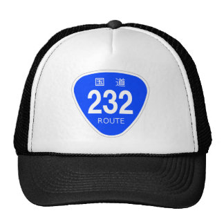 National highway 232 line - national highway sign trucker hat