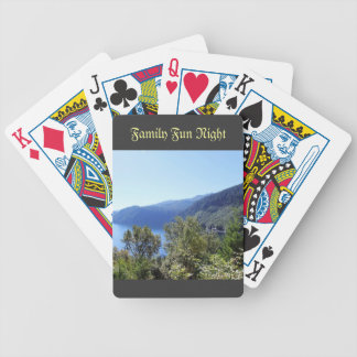 National Park, Seattle, U.S.A. Beautiful landscape Bicycle Playing Cards