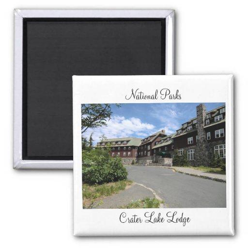 National Parks - Crater Lake Lodge Magnet